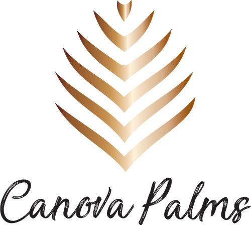 Canova Palms Logo, Link to Home Page