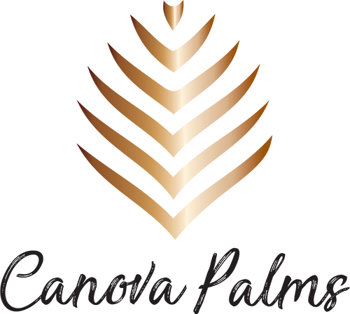 Canova Palms Logo, Link to Home